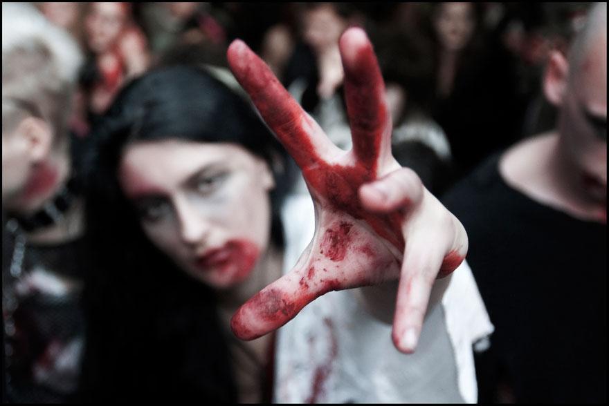 Zombie Walk 2010 - zdjęcia