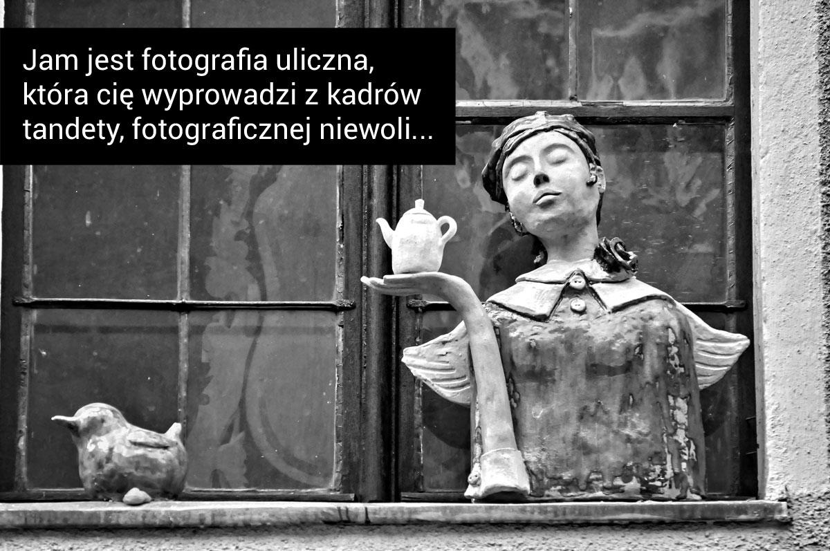 Jam jest fotografia uliczna...