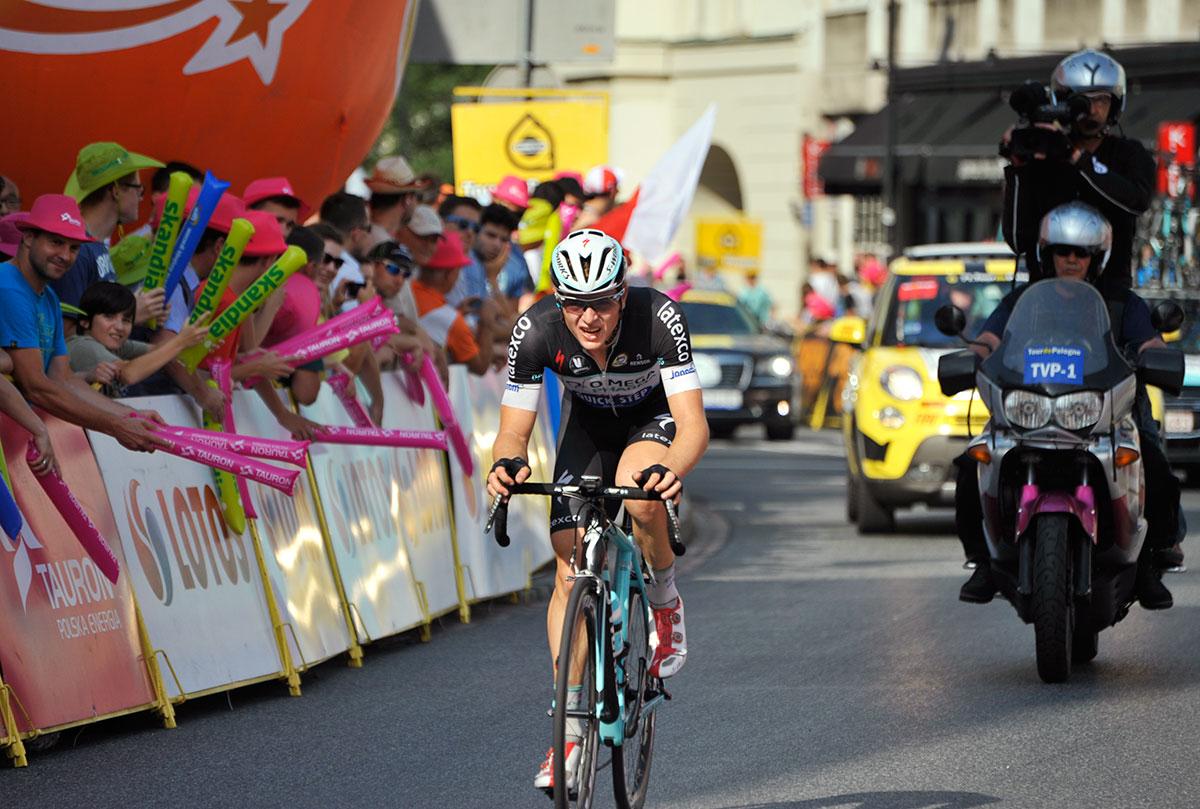 Petr Vakoc (Omega Pharma) - zwycięzca drugiego etapu 71. Tour de Pologne