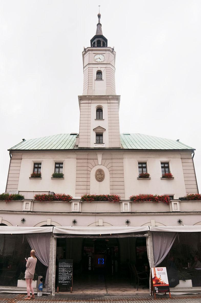 Gliwice - Stare Miasto - Ratusz - pierwszy wybudowano pod koniec XIII wieku (zachowały się piwnice); obecny kształt z XV wieku