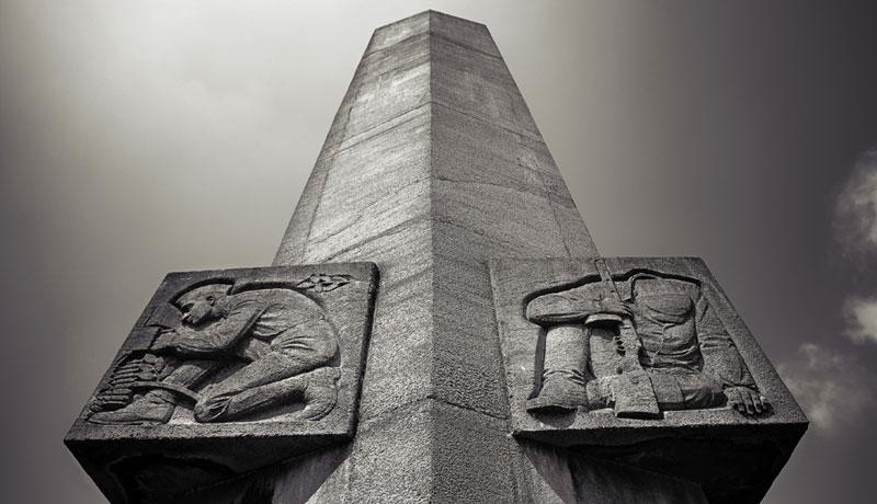 Polichno - pomnik Gwardii Ludowej
